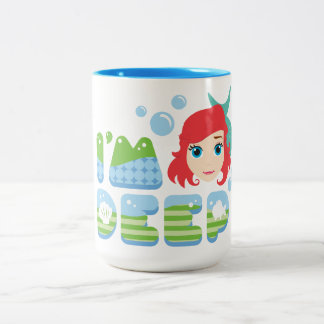 Ariel | I'm Deep Two-Tone Coffee Mug