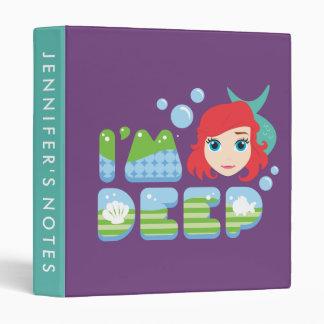 Ariel | I'm Deep Vinyl Binder