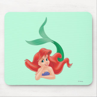 Ariel Laying Down Mouse Pad