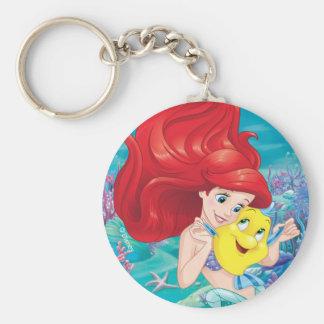 Ariel | Make Time For Buddies Keychain