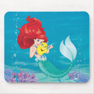 Ariel | Make Time For Buddies Mouse Pad