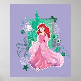 Ariel - princesse vive poster