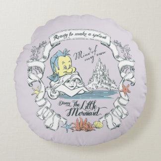 Ariel | Ready to Make a Splash Round Pillow