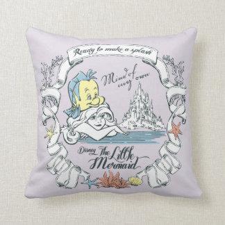 Ariel | Ready to Make a Splash Throw Pillow