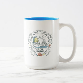 Ariel | Ready to Make a Splash Two-Tone Coffee Mug