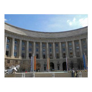 Ariel RIos Building Federal Triangle Washington DC Postcard