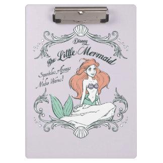 Ariel | Sparkles Always Make Waves Clipboard