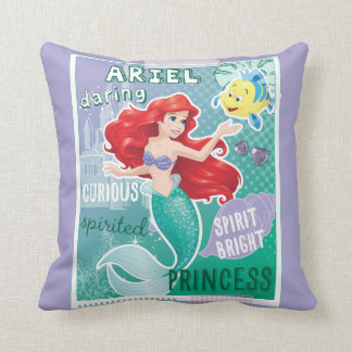 Ariel - Spirit Bright Princess Throw Pillow