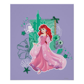Ariel - Spirited Princess Poster