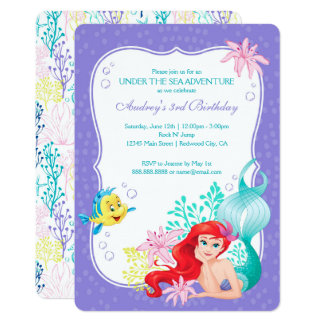 Ariel | Under the Sea Adventure Birthday Card