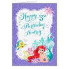 Ariel | Under the Sea Adventure Happy Birthday Card