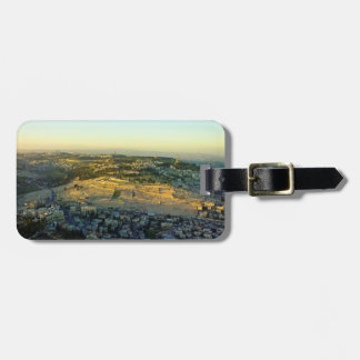 Ariel View of the Mount of Olives Jersalem Israel Bag Tag