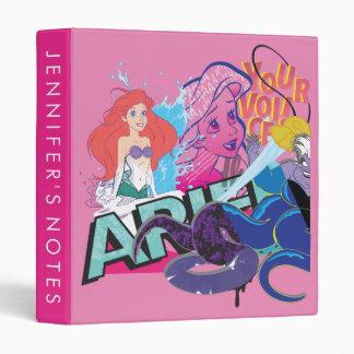 Ariel | Your Voice Vinyl Binders