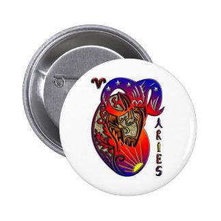 Aries 2 Inch Round Button