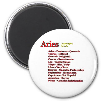 Aries Astrological Match The MUSEUM Zazzle Gifts Magnet