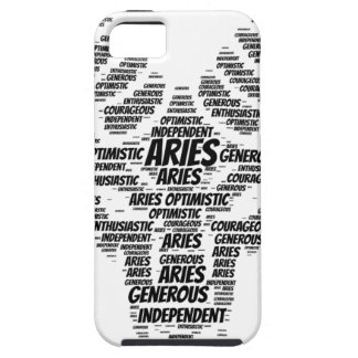 Aries Astrology Zodiac Sign Word Cloud Case For The iPhone 5