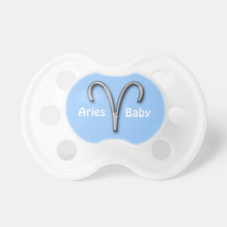 Aries Baby-Zodiac Sign Pacifier