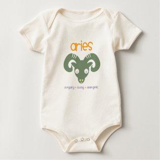 Aries Birthday Baby Bodysuit