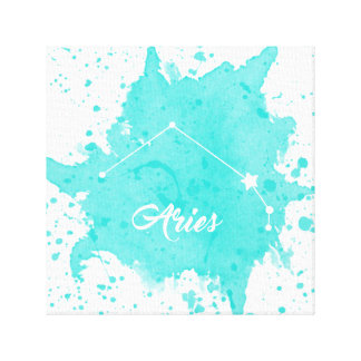 Aries Blue Wall Art