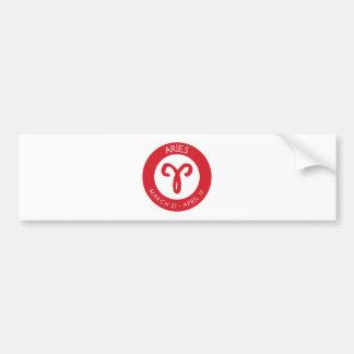 Aries Bumper Sticker