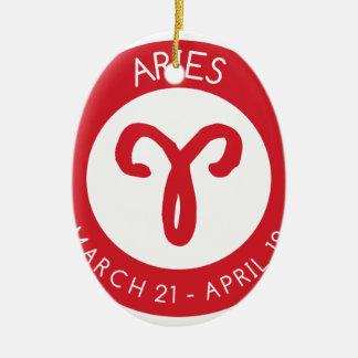 Aries Ceramic Ornament