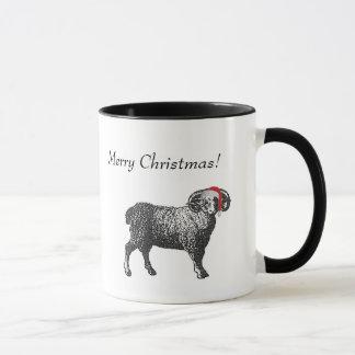 Aries Christmas Mug