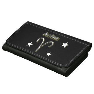 Aries chrome symbol wallets