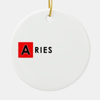 ARIES COLOR CERAMIC ORNAMENT