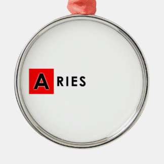 ARIES COLOR METAL ORNAMENT