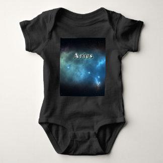 Aries constellation baby bodysuit