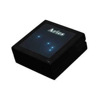 Aries constellation gift box