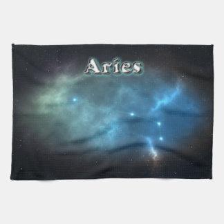 Aries constellation kitchen towel
