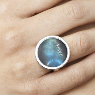 Aries constellation photo rings