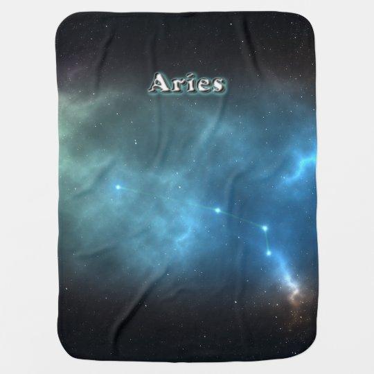 Aries constellation receiving blanket