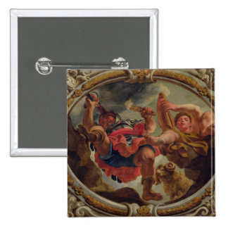 Aries, from the Signs of the Zodiac 2 Inch Square Button