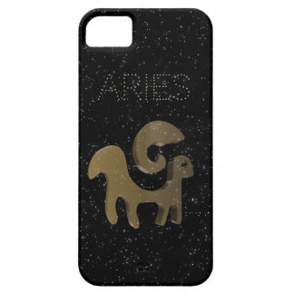 Aries golden sign iPhone 5 cases