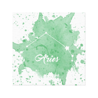 Aries Green Wall Art