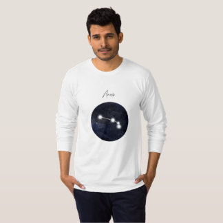Aries horoscope sign, you can customize T-Shirt