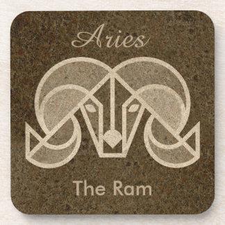Aries, Horoscope Symbol, The Ram Coaster Set