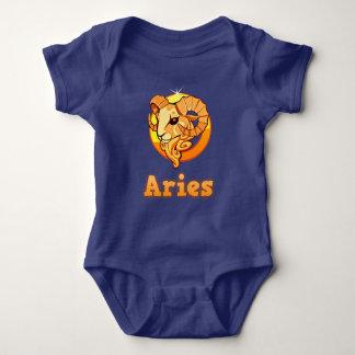 Aries illustration baby bodysuit