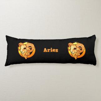Aries illustration body pillow