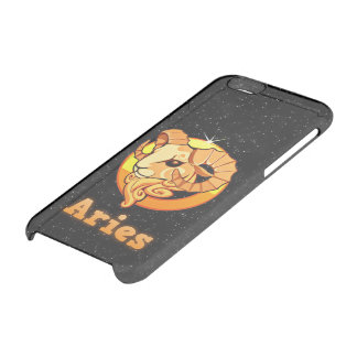 Aries illustration clear iPhone 6/6S case