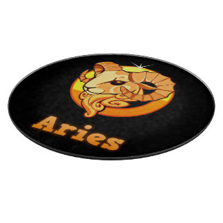 Aries illustration cutting board