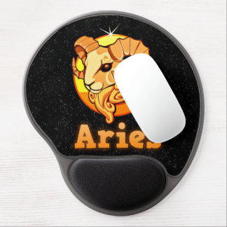 Aries illustration gel mouse pad