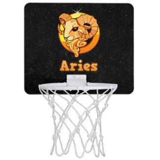 Aries illustration mini basketball hoop