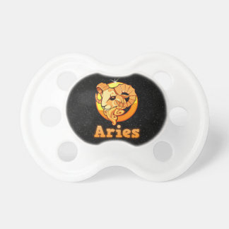Aries illustration pacifier