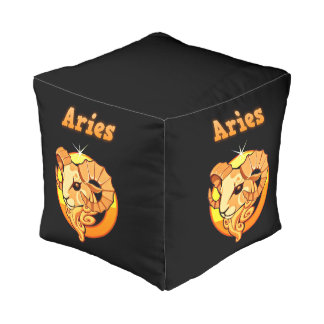 Aries illustration pouf