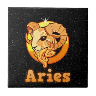 Aries illustration tile