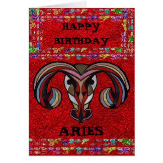 ARIES LOGO COLLECTION CARD