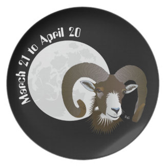 Aries March 21 tons of April 20 Plates